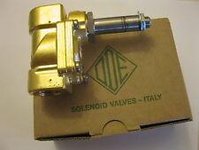 """O.D.E HOT WATER SOLENOID VALVE FOR  ESPRESSO OR STEAMER  1/2""""  110V OR 230V"""