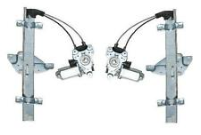 Fits 98 - 02 Olds Intrigue Power Front Window Regulator with Motor Pair Set NEW