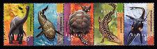 1997 Prehistoric Animals of Australia - MUH Strip of 5