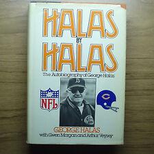 HALAS by HALAS signed at 1963 Chicago Bears Reunion HALAS LUCKMAN TAYLOR MORRIS