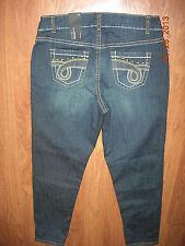 LANE BRYANT sz 14 Trendy Distressed Stud Embellished Skinny Jeans 14W NWT