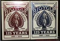 12 Decks Bicycle 125th Anniversary Playing Cards