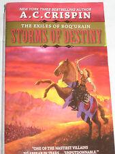 Storms of Destiny Exiles of Boq'urain AC Crispin Fantasy Fiction PB