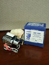 Perko Bow Light 225 degrees Chromium Plated w/ 12-volt bulb