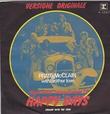 "PRATT & McCLAIN - Happy Days (ps) 7"" 45"