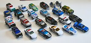 LM#069 24 Older MATCHBOX LESNEY Police and Emergency vehicles