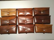 Vintage Swiss Leather Bag, Excellent conditions for its age1960s
