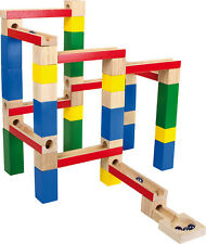 Marble Run - Wooden Blocks  1530. Small Foot Kids Activity toy - UK Seller