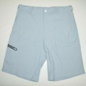 """NIKE GOLF 11"""" Tiger Woods Collection Dri-Fit Stretch Golf Shorts Sz 33"""