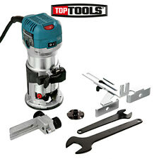 "Makita RT0700CX4 1/4"" Router/Laminate Trimmer With Trimmer Guide 240V"