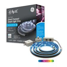 """Cync por GE Smart LED 80x.25x80"""" luz de tira de conexión directa a todo color regulable"""