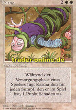 KARMA (Karma) Magic limited black bordered German Beta FBB Foreign tedesco Limit