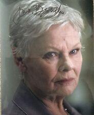 Judi Dench signed 10x8 Image E photo (UACC Registered AFTAL approved dealer COA)