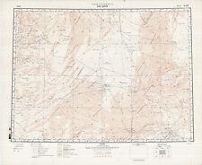 Russian Soviet Military Topographic Maps  - AL JAWF (Libya), 1:1M, ed.1990