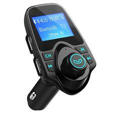 Bluetooth MP3 Player FM Transmitter Wireless Radio Adapter Car Kit USB Charger