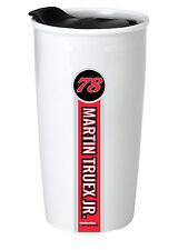NASCAR #78 Martin Truex 12oz Double Wall Ceramic Tumbler-NASCAR Travel Mug