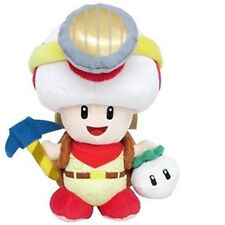 Super Mario Bros Stand Captain Toad Little Buddy Plush Doll Stuffed Anime Toy 7""