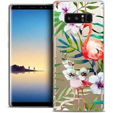 "Coque Crystal Gel Pour Samsung Galaxy Note 8 (6.3"") Extra Fine Souple Watercolor"