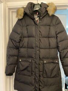Original Ladies Long Puffa Jacket Uk 14