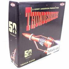Tactic Thunderbirds Trivia Board Game RARE Pre-production Mockup Collectors Item