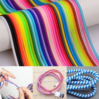 10pc Spring Protector Cover Cable Line For Phone USB Data Sync Charging Cable AU