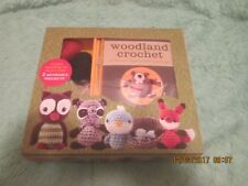 Woodland Critters Crochet Kit Easy to Stitch Kit 12 Project Ideas Great Gift