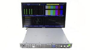 Harris Videotek VTM-4100 PKG Waveform Vector Monitor Opt 10 SD/HD A3-OPT-3TL