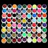 72 Pots Mix Color Solid Pure UV Builder Gel Acrylic Set For Nail Art Tips PJ
