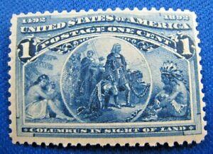 UNITED STATES,  1893   SCOTT #230     MH                  (U7)