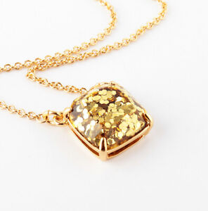 Kate Spade Glitter Girl Charm Necklace NWT For the Sparkling, Glittering You!