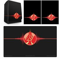 100 Max Pro MTG Size Image Sleeves DeckBox Playmat ELEMENTAL ICONIC RED FIRE