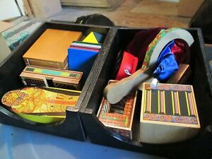 MAGIC DELUX WOODEN BOX OF TRICKS INSTRUCTIONS -MILISSA AND DOUG PRODUCTS GREAT C