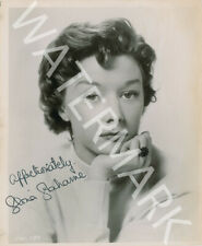 GLORIA GRAHAME SIGNED 10X8 PHOTO, GREAT B&W STUDIO SHOT, LOOKS AWESOME FRAMED