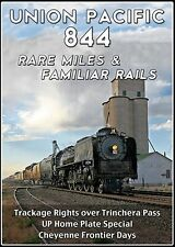 UNION PACIFIC 844 RARE MILES & FAMILIAR RAILS NEW DVD VIDEO STEAM TRAIN VIDEOS