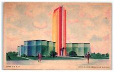 1933 Owens-Illinois Glass Block Building, Chicago World Fair Postcard