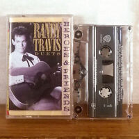 Randy Travis Duets Heroes & Friends Tape Cassette Album WB country M-