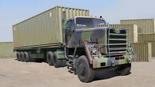 Trumpeter 01015 1/35 M915 Tractor/M872 Flatbed trailer & 40FT Container  model