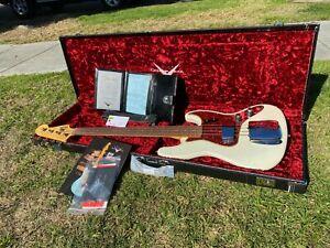 Fender Custom Shop '60 Jazz Journeyman Bass Olympic White signed by CW Fleming