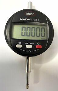 """Mahr 4336020 MarCator 1075R Electronic Indicator, .50""""/12.5mm Range, .0001"""""""