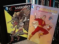 Convergence Infinite Earths Book 1 Book 2