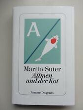"""Martin Suter """"Allmen und der Koi"""" Buch 2019, gebundene Ausgabe, TOP Zustand"""