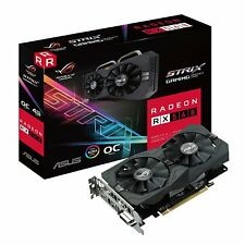 ASUS ROG Strix EVO Gaming Radeon RX 560 GDDR5 Desktop Computer PC Graphic Cards
