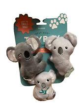 Fringe |  Totally Koala-Fied - Set Of Three | Squeaky Plush Dog Toy