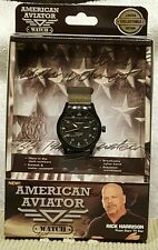 American Aviator Watch by Rick Harrison of Pawn Stars- New In The Sealed Box!