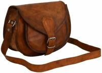 Hobo Purse Hot Women Vintage Brown Leather Messenger Cross Body Bag Handmade