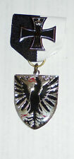 German Prussia Army Officer Veteran Iron Cross Battle Award War Eagle Case Box
