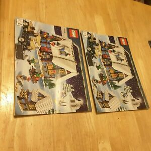 LEGO Creator Winter Village Cottage 10229 full set of manuals with ink writing