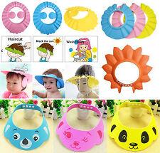 Children's Baby Bath/Shower,Shampoo Cap,Eye Shield,Tearless, Various Designs. UK