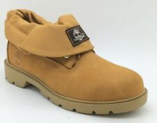 Timberland Junior Boys Roll Top Single Shot Leather Boots UK 4.5 *