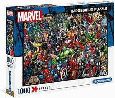 Marvel Impossible 39411 - Clementoni Puzzle 1000 Piece, New
